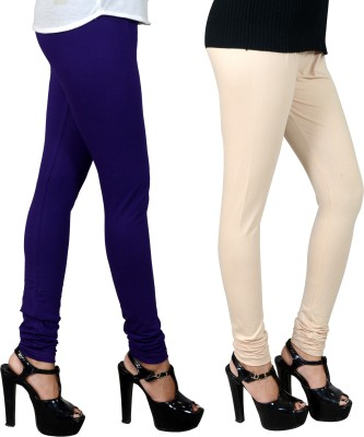 JSA Women's Blue, Beige Leggings