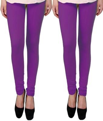 divine creations Women,s Purple Leggings