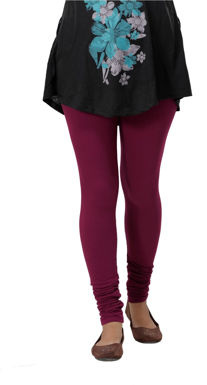 Ankita Womens Maroon Leggings