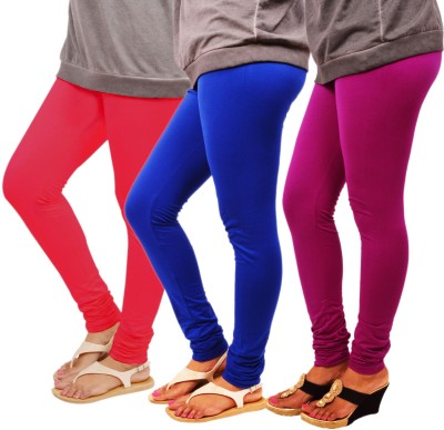 Leggings World Women's Pink, Blue, Purple Leggings