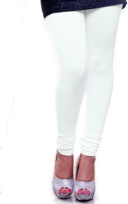 OrganicO Women's White Leggings