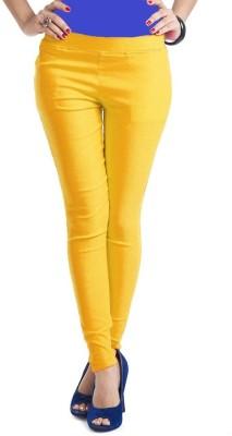 Thinline Women,s Yellow Jeggings