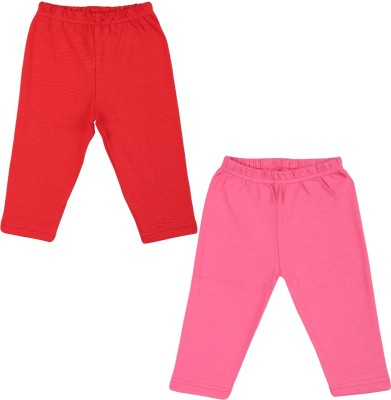 Color Fly Baby Girls Pink, Red Leggings