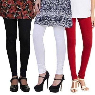 vernal Women's Black, White, Red Leggings