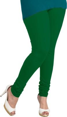 I-Diva Women's Dark Green Leggings