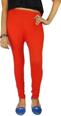 B VOS Women's Orange Leggings