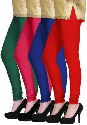 PI World Women's Green, Pink, Blue, Red Leggings