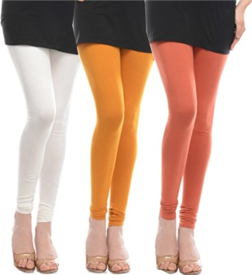 Stay Blessed Women's Yellow, White, Brown Leggings