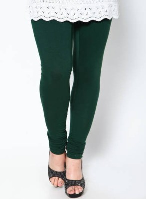 POSE Women,s Dark Green Leggings