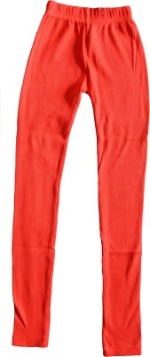Myfaa Girl,s Red Leggings