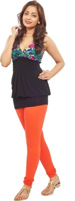 Minu Suits Women's Orange Leggings