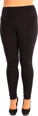 Daddu Enterprises Women's Black Leggings