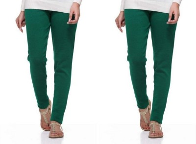 S Redish Women,s Green Leggings