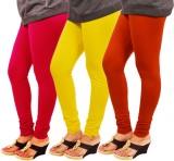 Leggings World Women's Red, Yellow, Oran...