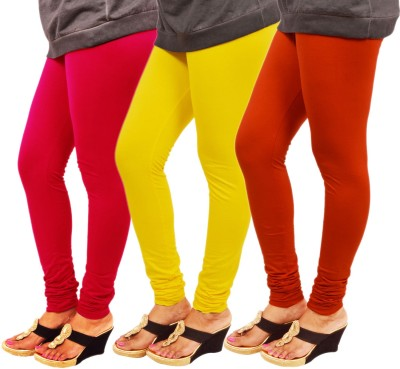 Leggings World Women's Red, Yellow, Orange Leggings