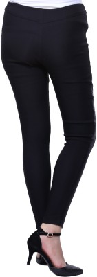 Veakupia Women's Black Jeggings