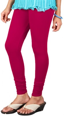 Anshul Textile Women's Pink Leggings