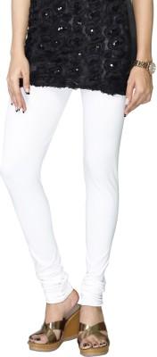Cynthia Lifestyle Women's White Leggings