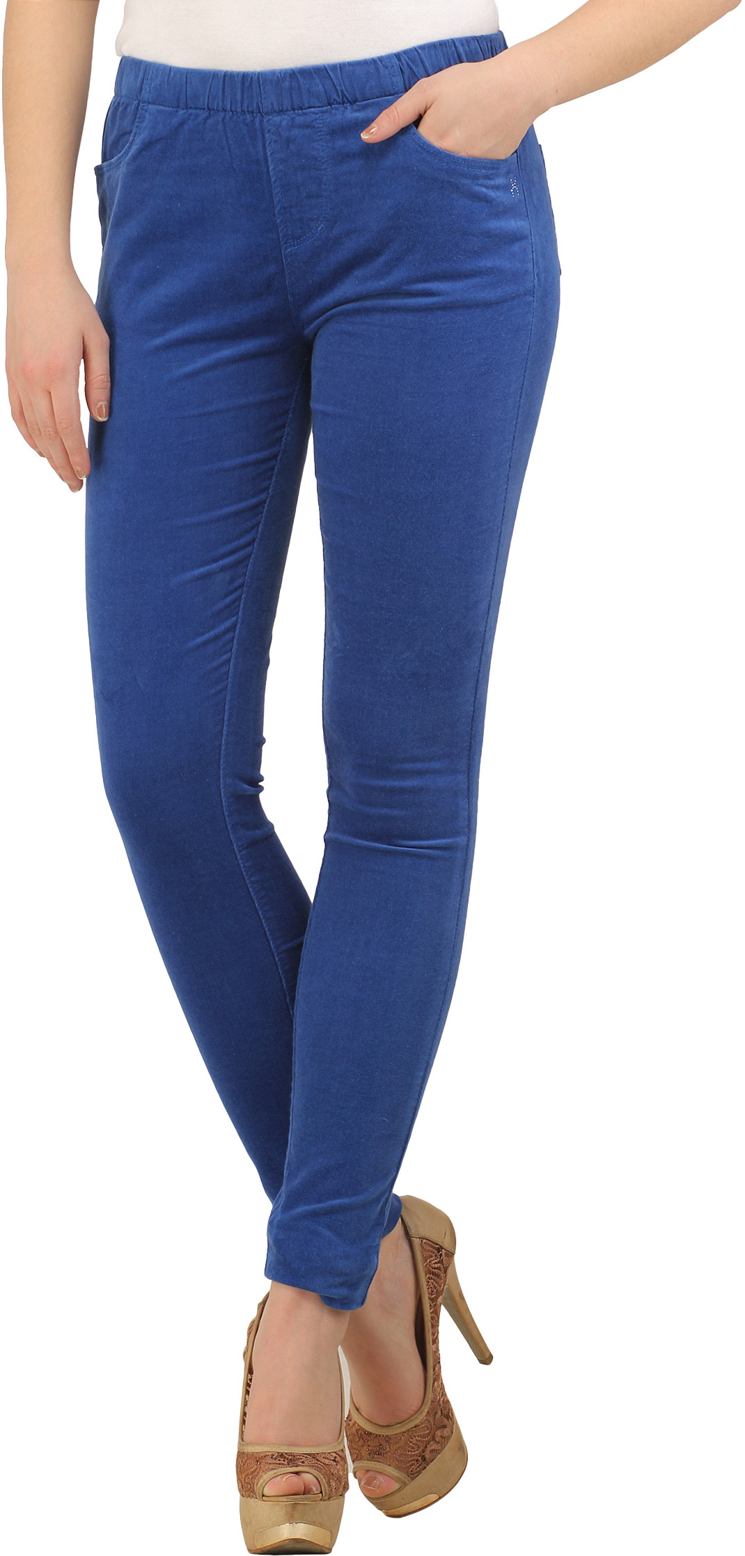 XPose Womens Blue Jeggings