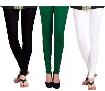 Vastra Buzz Women's White, Black, Green Leggings