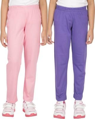 Ocean Race Girl's Pink, Purple Leggings
