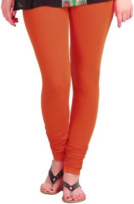 Vrshoppers Women's Orange Leggings