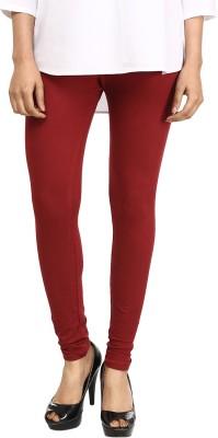 Vastra Buzz Women's Maroon Leggings