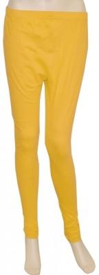 Pezzava Women's Yellow Leggings
