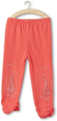 Icable Baby Girl,s Red Leggings
