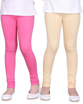Sini Mini Girl's Pink, Beige Leggings