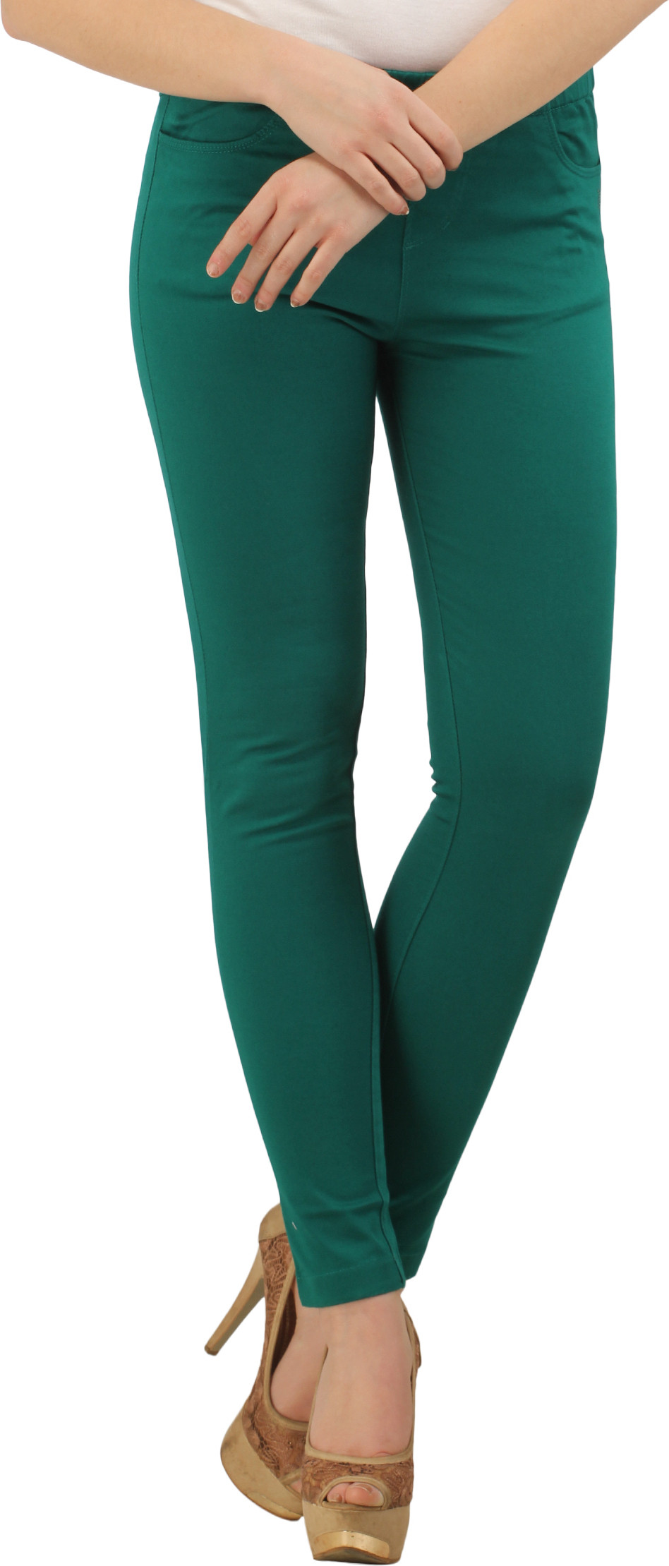 XPose Womens Green Jeggings