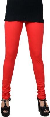 Jsa Women's Red Leggings