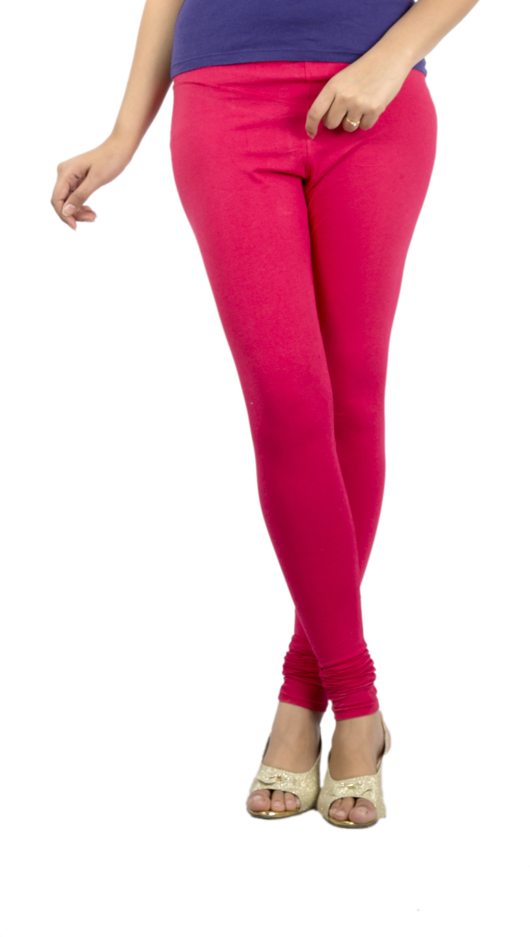 Jublee Womens Pink Leggings