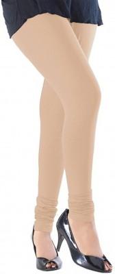 Vrshoppers Women's Beige Leggings
