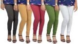 Mahadevi Women's Multicolor Leggings (Pa...