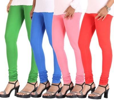 Roma Creation Women's Green, Blue, Pink, Orange Leggings