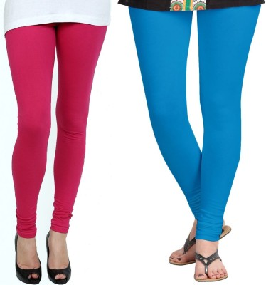 ZACHARIAS Women's Pink, Light Blue Leggings