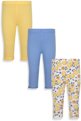 Mothercare Baby Girl's White, Blue, Yellow Leggings