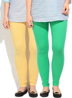 Fort Collins Women's Green, Yellow Leggings