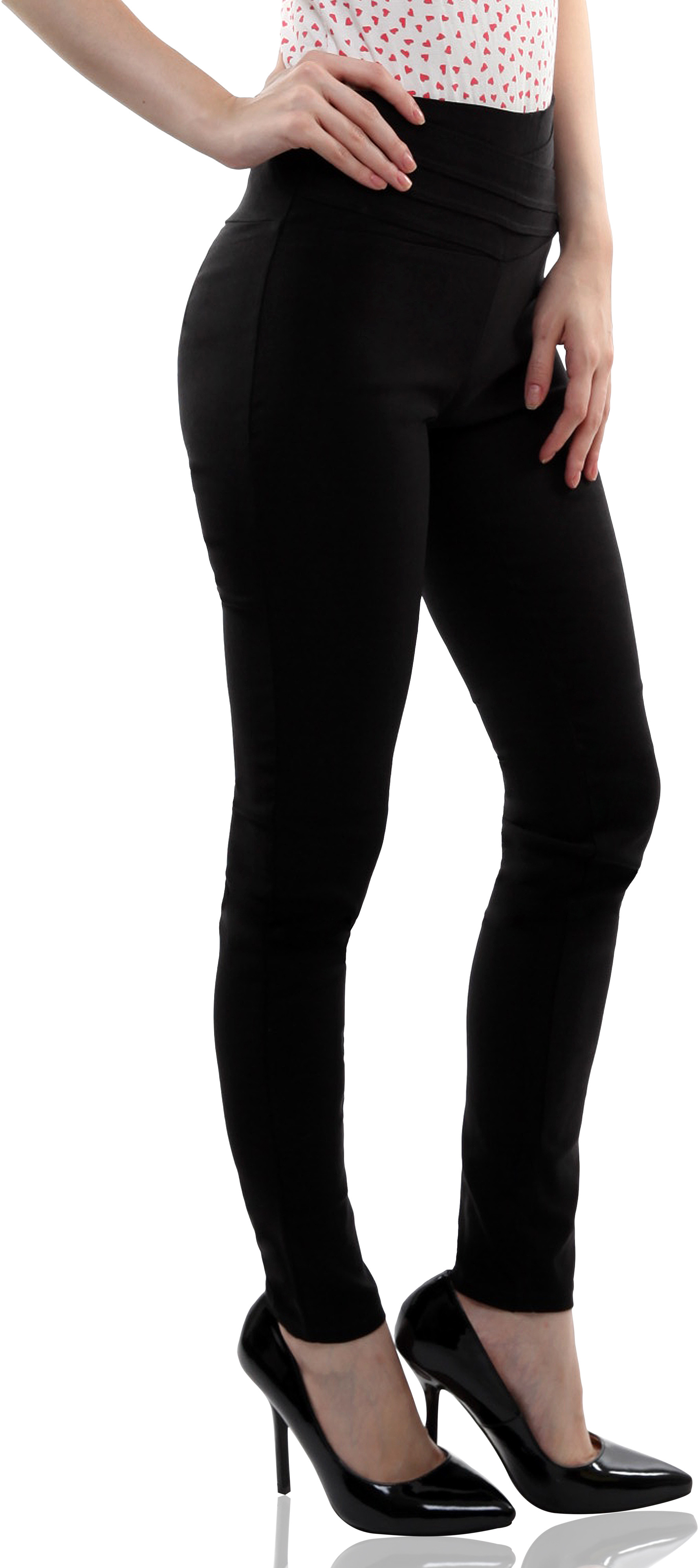 Miss Chase Womens Black Jeggings