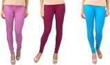 NE Women's Multicolor Leggings (Pack of ...