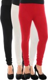 Paulzi Women's Black, White, Red Legging...