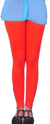 Anubhaviya Women's Orange Leggings