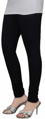 V R SHOPPERS Women's Black Leggings