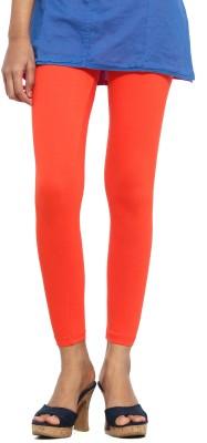 S Vaga Women's Orange Leggings