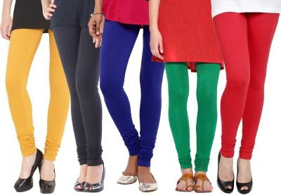 Rashi Women's Yellow, Black, Blue, Green, Red Leggings