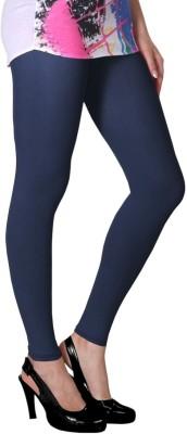 Slassy Women's Blue Leggings