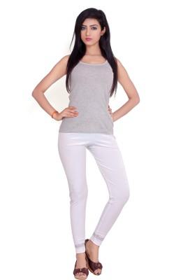 Teen Fitness Women's White Leggings