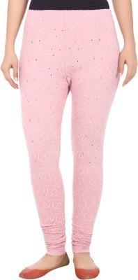 Dope Women's Pink Leggings
