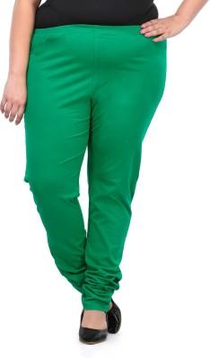 PlusS Women's Green Leggings